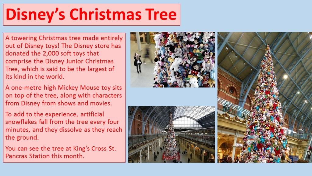 Disney's Christmas Tree